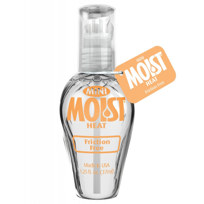 Mini Lubricante Caliente Moist - La Maleta Rosada Sex Shop Online Colombia