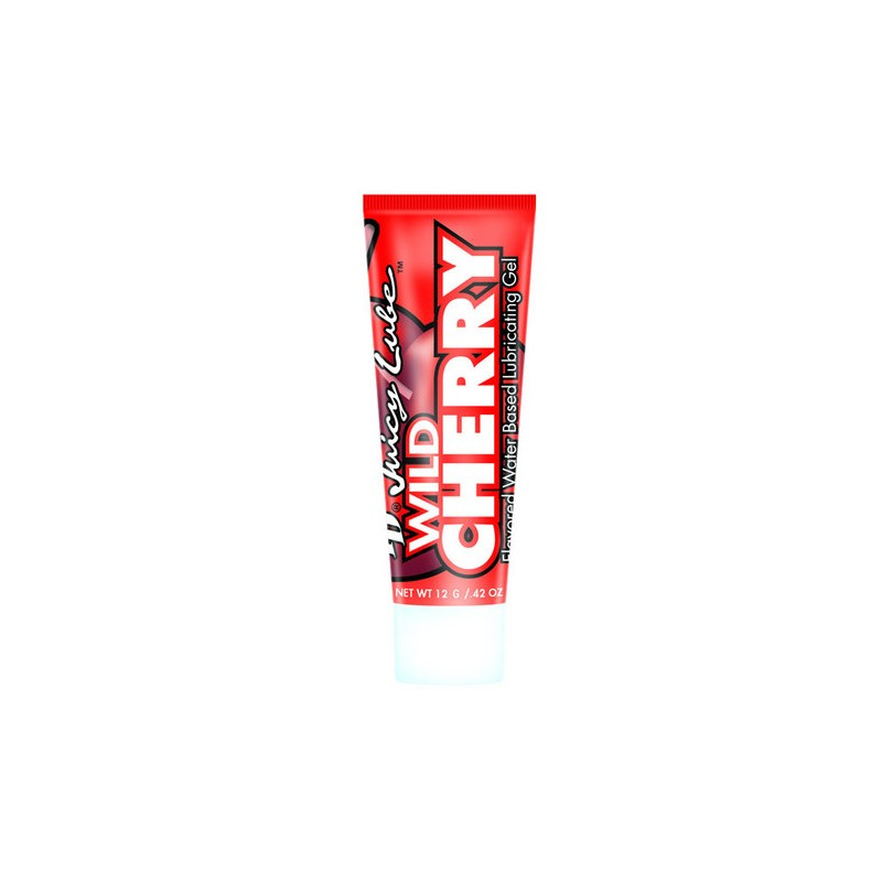 Lubricante sabor a Cereza ID Juicy Lube - Cherry - 12g - lamaletarosada.com sex shop online Colombia