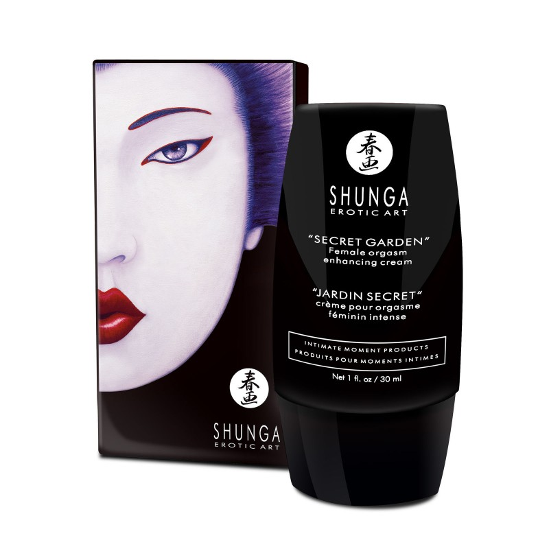 Crema Potenciadora de Mujeres Shunga Secret Garden Enhancing Cream For Her  - lamaletarosada.com sex shop online Colombia