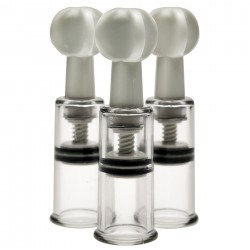 Succionador de Pezones Max Twist Clit and Nipple Triple Sucker Set - lamaletarosada.com sex shop online Colombia